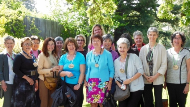 Some—but not all— members of Parkinson's Women Support
